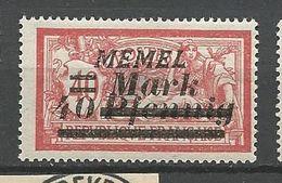 MEMEL N° 84 NEUF* CHARNIERE  / MH - Memel (1920-1924)