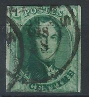 BB-/-015.- N°9,  Obl. , SANS FILIGRANE  -  Cote 165.00 €  - IMAGE DU VERSO SUR DEMANDE - 1858-1862 Medallions (9/12)