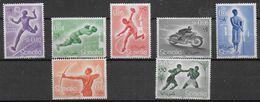 SOMALIA - 1958 - SPORT DIVERSI - SERIE 7 VALORI - NUOVA MNH** ( YVERT 259/264- MICHEL 340/346) - Non Classificati