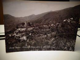 Cartolina Santa Maria Calice Al Cornoviglio Prov La Spezia Timbro Colonia Cozzai 1966 - La Spezia