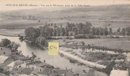 DUN SUR MEUSE 55 Vue Sur Le Déversoir , Prise De La Ville Haute - Dun Sur Meuse