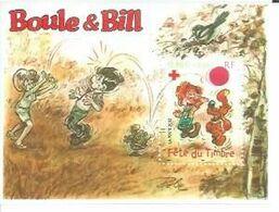 FETE DU TIMBRE - BOULE & BILL / ROBA ( BLOC ) - France
