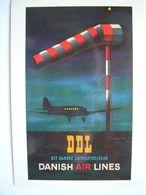 Avion / Airplane / DDL - DANISH AIR LINES  / Douglas DC-3 - 1939-1945: 2ème Guerre