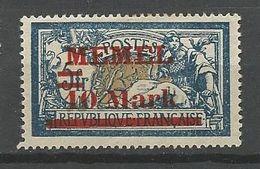 MEMEL N° 32 NEUF* Trace De CHARNIERE  / MH - Memel (1920-1924)