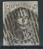 BB-/-242.- N° 10,  Obl. , SANS FILIGRANE  -  Cote 10.00 €  - IMAGE DU VERSO SUR DEMANDE - 1858-1862 Medallions (9/12)