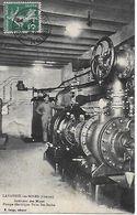 23 -  LAVAVEIX LES MINES - PUITS SAINTE BARBE - INTERIEUR DES MINES POMPE ELECTRIQUE EDITEUR E. GORGE 1912 - Miniere