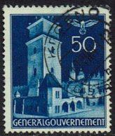 Generalgouvernement 1940, MiNr 48, Gestempelt - Gebruikt