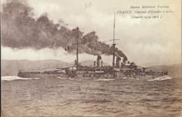 Marine Militaire Française - FRANCE Cuirassé D'escadre à Turbines - Warships