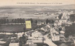 DUN SUR MEUSE 55 Vue Panoramique Prise De La Ville Haute - Dun Sur Meuse
