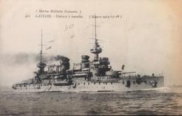 Marine Militaire Française - GAULOIS - Cuirassé à Tourelles - Warships