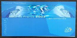 Souvenir Philatélique - YT N°3582, 3583 - Etape 15 Du Tour De France / Cyclisme -  2003 - France