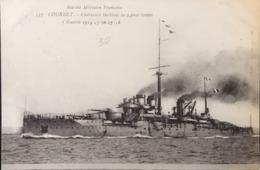 Marine Militaire Française - COURBET- Cuirassé à Turbines - Warships