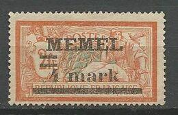 MEMEL N° 31 NEUF* Trace De CHARNIERE  / MH - Memel (1920-1924)