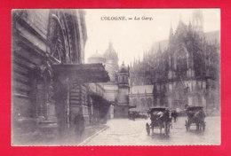 E-Allemagne-629D04  COLOGNE, La Gare, Attelages, Cpa - Koeln