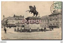 Rouen - Place De L Hotel De Vile - Statue De Napoleon I - CPA - Rouen