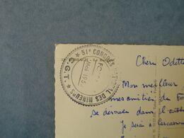 Syndicat C.G.T  - FORBACH  -  57  -   Cachet Du 51° Congrès National Des Mineurs  -  Mai 1953 - Syndicats