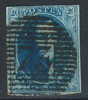 AA-/-100.- N° 11,  Obl. N° 73 , SANS FILIGRANE  -  Cote 10.00 €  - IMAGE DU VERSO SUR DEMANDE - 1858-1862 Medallions (9/12)