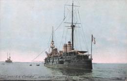 Marine Militaire Française - Le Condé - Croiseur Cuirassé - Warships