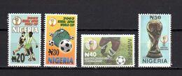 Nigeria 2002 Football Soccer World Cup Set Of 4 MNH - 2002 – South Korea / Japan