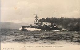 Marine Militaire Française - LA JUSTICE - Cuirassé D'escadre - Warships