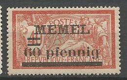 MEMEL N° 24 NEUF*   CHARNIERE  / MH - Memel (1920-1924)