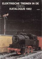 CatalogueLIMA HEMA 1982 Elektrische Treinen HO 1/87 - Libri E Riviste