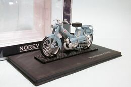 Norev - MOBYLETTE MOTOBÉCANE AV65 1965 Bleu Réf. 182056A Neuf 1/18 - Norev