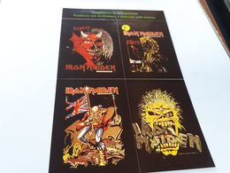 Postcard - Iron Maiden, Self Adhesive Postcard    (V 34874) - Musica E Musicisti