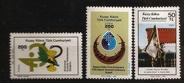 Turquie Chypre Turc RTCN 1987 N° 196 / 8 ** Infanterie, Soldat, Kuwait, Drapeau, Serpent, Croissant, Caducée, Pharmacie - Chypre (Turquie)