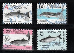 Kazachstan 2020 Mi Nr ???, Vissen, Fish  4x - Kazajstán