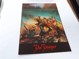 Postcard - Iron Maiden    (V 34876) - Musica E Musicisti