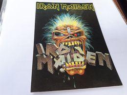Postcard - Iron Maiden    (V 34877) - Musica E Musicisti