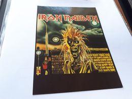 Postcard - Iron Maiden    (V 34878) - Musica E Musicisti