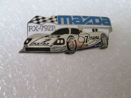 RARE TOP  PIN'S   MAZDA  RX 792 P   LE MANS   Email Grand Feu    MFS - Pin