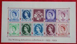 Celebrating 50th Ann. Wilding Definitive (Mi 2112-2120) 2003 POSTFRIS MNH ** ENGLAND GRANDE-BRETAGNE GB GREAT BRITAIN - 1952-.... (Elizabeth II)
