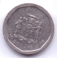 JAMAICA 1996: 5 Dollars, KM 163 - Jamaica