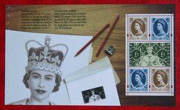 Celebrating 50th Ann. Wilding DX31 Booklet Pane (Mi 2131) 2003 POSTFRIS MNH ** ENGLAND GRANDE-BRETAGNE GB GREAT BRITAIN - 1952-.... (Elizabeth II)