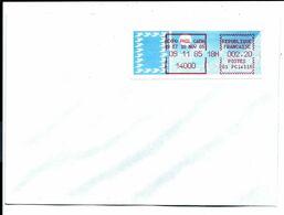 14 CAEN > ÉTIQUETTE De GUICHET G1 > Expo Philatélique 09/11/1985 Sur Lettre - VENTE DIRECTE X - 1985 Papier «Carrier»