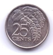TRINIDAD & TOBAGO 2014: 25 Cents, KM 32 - Trinidad En Tobago