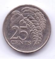 TRINIDAD & TOBAGO 2005: 25 Cents, KM 32 - Trinidad En Tobago