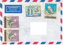 Iran 1964/65, Michel# 1237, 1238, 1246 O Luftpost Nach Deutschland - Iran
