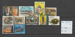 België 2008-2010 - 11 Zegels Gest./obl./used - Belgium