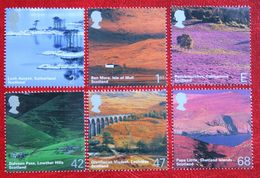 BRITISH JOURNEY SCOTLAND LANDSCAPES (Mi 2140-2145) 2003 POSTFRIS MNH ** ENGLAND GRANDE-BRETAGNE GB GREAT BRITAIN - 1952-.... (Elizabeth II)