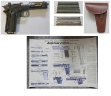 Schnittmodell - Selbstladepistole Steyer - Österreich - WK 1 - - Sammlerwaffen
