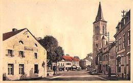 Barvaux S/Ourthe - Place De L'Eglise (garage Oldtimer Colorisée Pompe à Essence..carte Gondolée) - Durbuy
