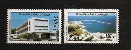 Turquie Chypre Turc RTCN 1987 N° 203 / 4 ** Développement, Port, Kyrenia, Université, Nicosie, Bateau, Tourisme, Hôtel - Chypre (Turquie)