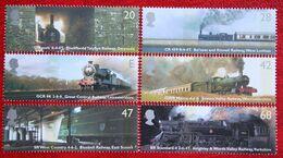 Classic Locomotives Zug Train (Mi 2174-2179) 2004 POSTFRIS MNH ** ENGLAND GRANDE-BRETAGNE GB GREAT BRITAIN - 1952-.... (Elizabeth II)