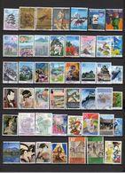 JAPON 2007 Timbres Oblitérés  Grands Formats Le Scan Ceux Que Vous Recevrez  Lot  08 08 11 - Collections, Lots & Series