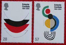 Centenary Of The Entente Cordiale (Mi 2208-2209) 2004 POSTFRIS MNH ** ENGLAND GRANDE-BRETAGNE GB GREAT BRITAIN - 1952-.... (Elizabeth II)