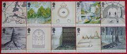 TOLKIEN LORD OF THE RINGS TWO TOWERS (Mi 2185-2194) 2004 POSTFRIS MNH ** ENGLAND GRANDE-BRETAGNE GB GREAT BRITAIN - 1952-.... (Elizabeth II)